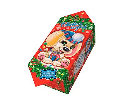 Упаковка новогодняя Конфета Щенок