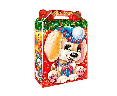 Упаковка новогодняя Подарок Лапуля
