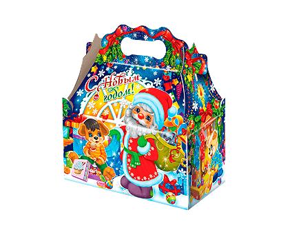 Упаковка новогодняя Ларец Семейный уют
