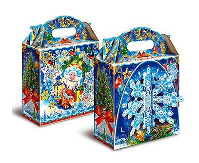 Упаковка новогодняя Снежинка